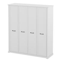 Шкаф для одежды, 4-х дверный AQ-BNC-10