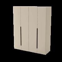 Шкаф для одежды, 4-х дверный (1-5) AQ-CRS-9