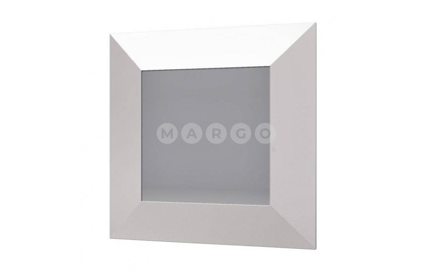 Зеркало 620 белый глянец AQ-KTW-2: фото - Margo.ua