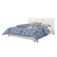 Кровать с подъемным механизмом 1600 белый глянец AQ-KTW-6