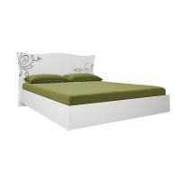 Кровать двуспальная MM-BGM-538 Глянец Белый