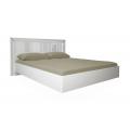 Кровать двуспальная MM-BL-842 Глянец Белый: фото - Margo.ua