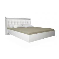 Кровать двуспальная MM-BL-851 Глянец Белый