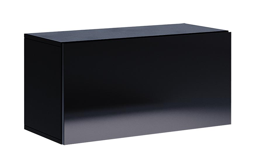 Полка MM-BX-733 Глянец Черный
