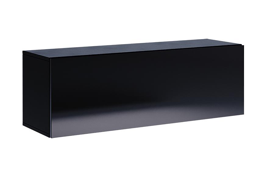 Полка MM-BX-735 Глянец Черный