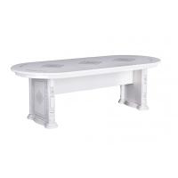 Стол обеденный MM-CHG-763 Глянец Белый