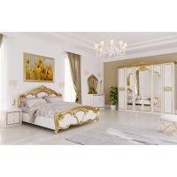 Спальня MM-EV-202 Глянец Белый-Золото