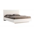 Кровать двуспальная MM-FML-455 Глянец Белый: фото - Margo.ua