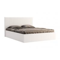 Кровать двуспальная MM-FML-456 Глянец Белый