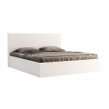 Кровать двуспальная MM-FML-458 Глянец Белый: фото - Margo.ua