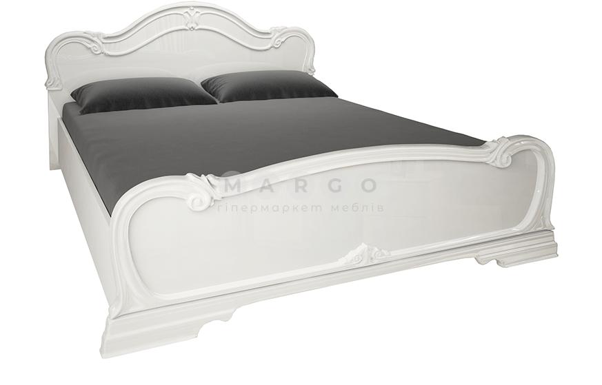 Кровать двуспальная MM-FTR-679 Глянец Белый: фото - Margo.ua
