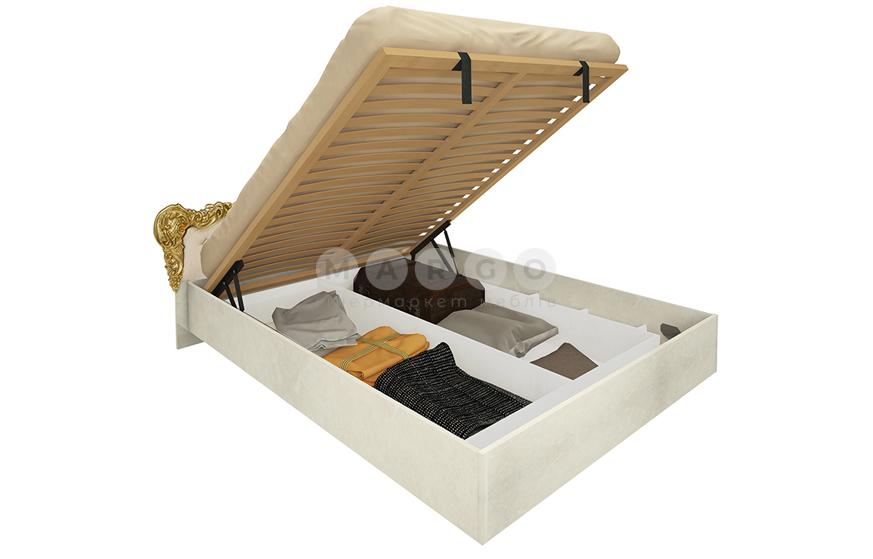 Кровать двуспальная MM-JNR-572 Радика Беж: фото - Margo.ua