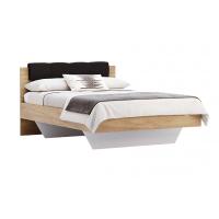 Кровать двуспальная MM-LNA-272 Лава-Дуб Крафт