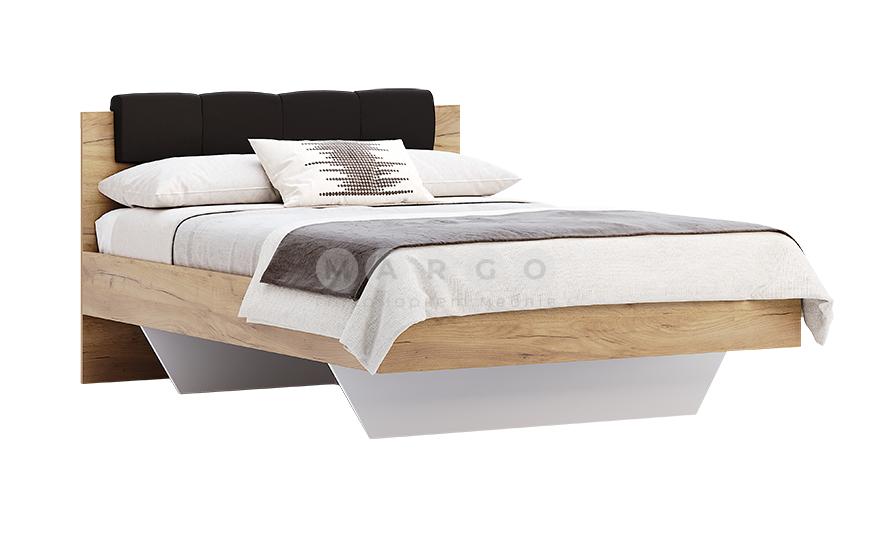 Кровать двуспальная MM-LNA-272 Лава-Дуб Крафт: фото - Margo.ua