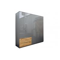 Шкаф 5 дверей с ящиками MM-LNS-243