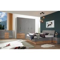Спальня MM-LNS-237 Серый Шифер-Дуб Вотан
