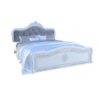 Кровать двуспальная MM-LZA-256 Глянец Белый