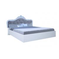 Кровать двуспальная MM-LZA-251 Глянец Белый