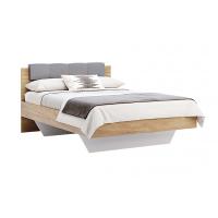 Кровать двуспальная MM-RMN-346 Дуб Крафт-Лава