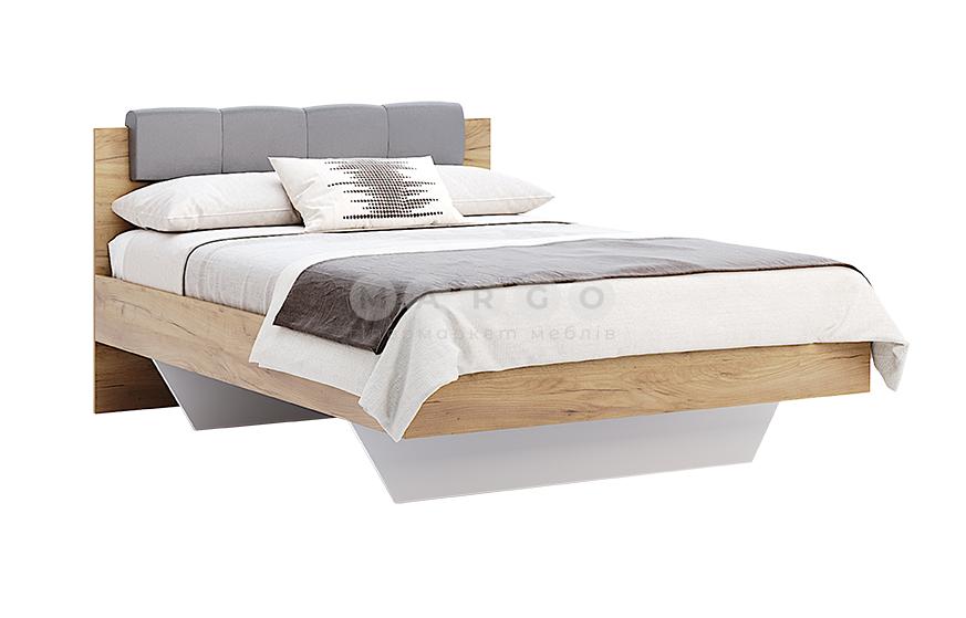 Кровать двуспальная MM-RMN-346 Дуб Крафт-Лава: фото - Margo.ua
