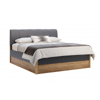 Кровать двуспальная MM-RMN-348 Дуб Крафт-Лава