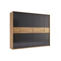 Шкаф 6 дверей без зеркал MM-RMN-356