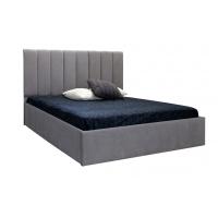 Кровать двуспальная MM-DAN-77 Серый