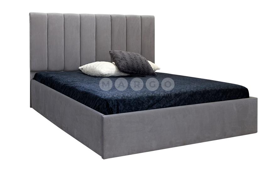 Кровать двуспальная MM-DAN-92 Серый: фото - Margo.ua