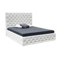 Кровать двуспальная MM-DIN-107 Белый