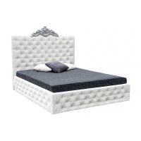 Кровать двуспальная MM-DIN-94 Белый