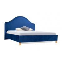 Кровать двуспальная MM-KRN-65 Синий