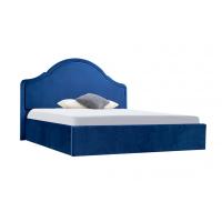 Кровать двуспальная MM-KRN-95 Синий