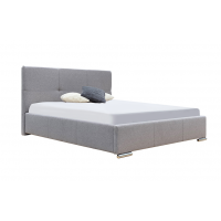 Кровать двуспальная MM-LLU-67 Серый