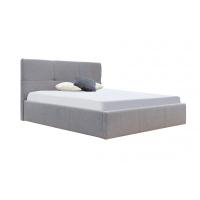 Кровать двуспальная MM-LLU-111 Серый