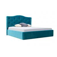 Кровать двуспальная MM-MNK-100 Синий