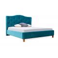 Кровать двуспальная MM-MNK-70 Синий: фото - Margo.ua