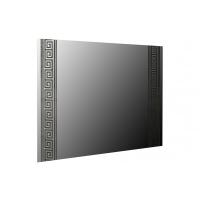Зеркало навесное MM-VLA-15 Глянец Белый / Черный Мат