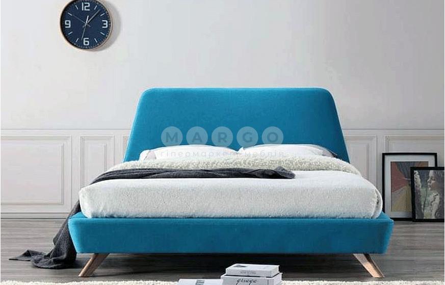 Кровать двуспальная SGL-GNT-501 Бирюзовая: фото - Margo.ua