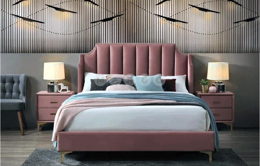 Кровать двуспальная SGL-MNKV-528: фото - Margo.ua