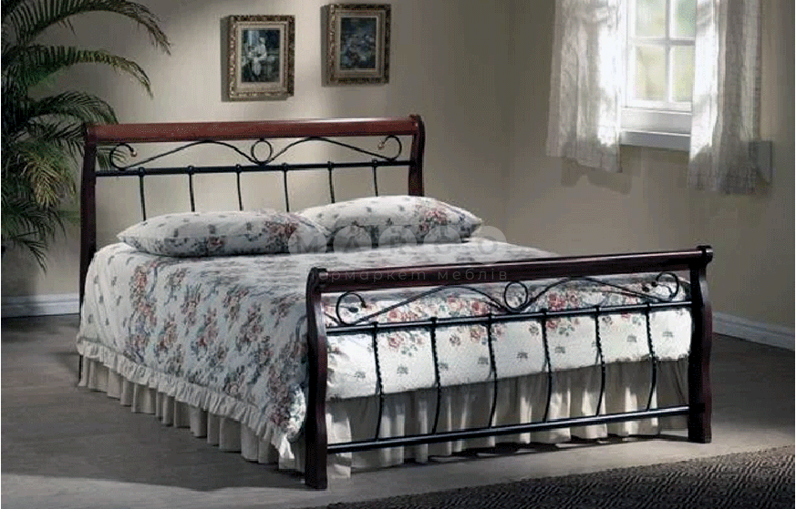 Кровать двуспальная SGL-VNJ-553: фото - Margo.ua
