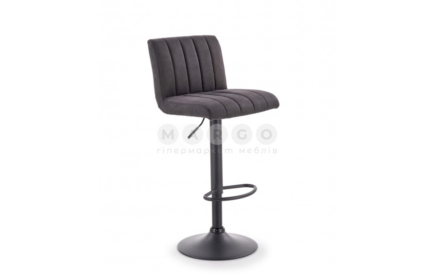 Барний стілець H-89 темно-сірий/коричневий: фото - Margo.ua