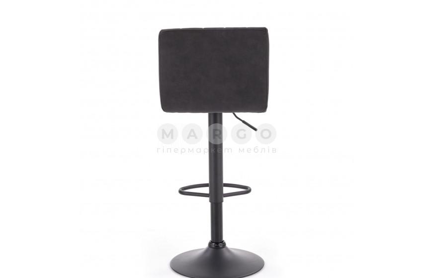 Барный стул H-89 темно-серый/коричневый: фото - Margo.ua
