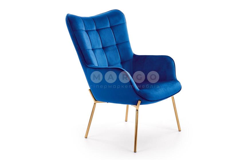 Кресло CASTEL 2 синий 97: фото - Margo.ua