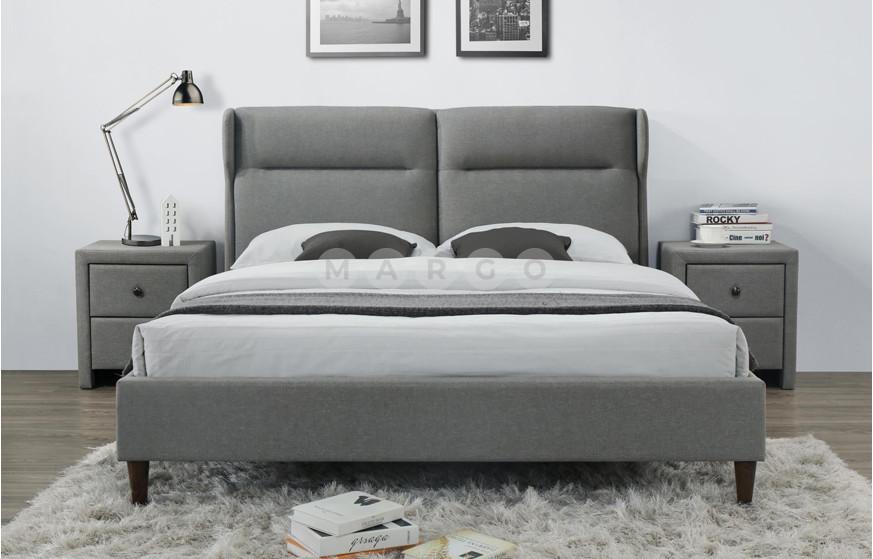 Кровать SANTINO 160 серый 109: фото - Margo.ua