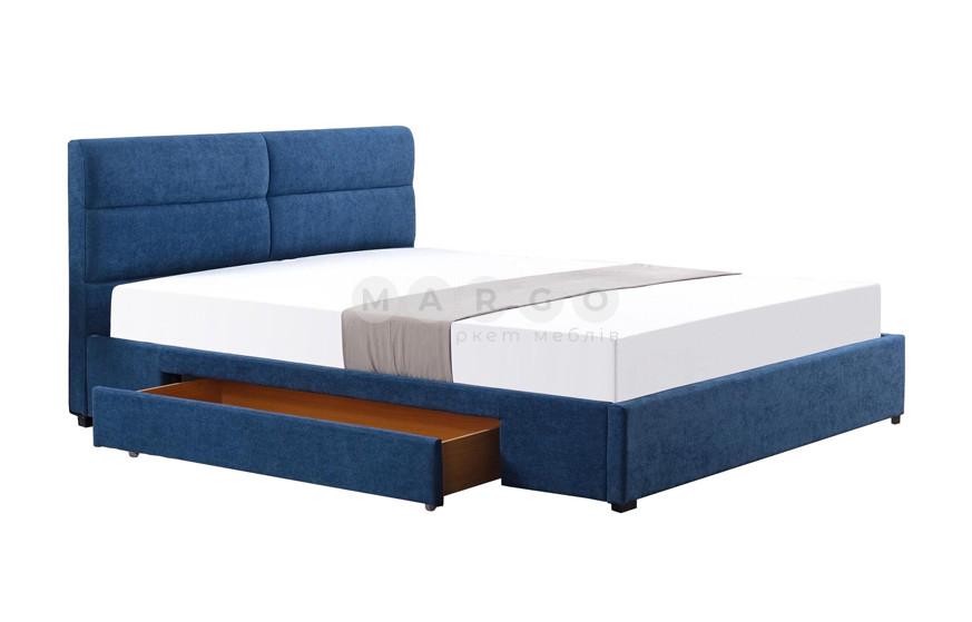 Кровать MERIDA 160 синий 95: фото - Margo.ua