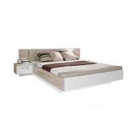 Кровать 1,6 с тумбами прикроватными и банкеткой RONDINO