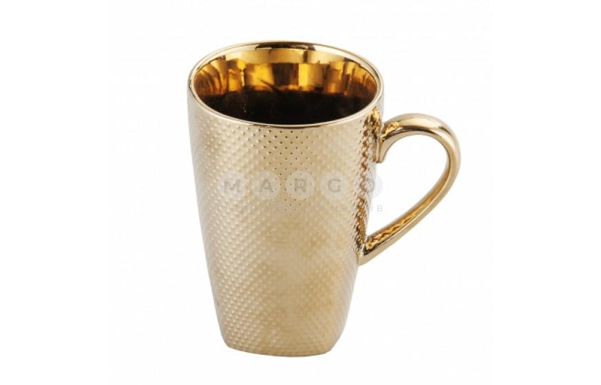 Кружка Pompei New золотой: фото - Margo.ua