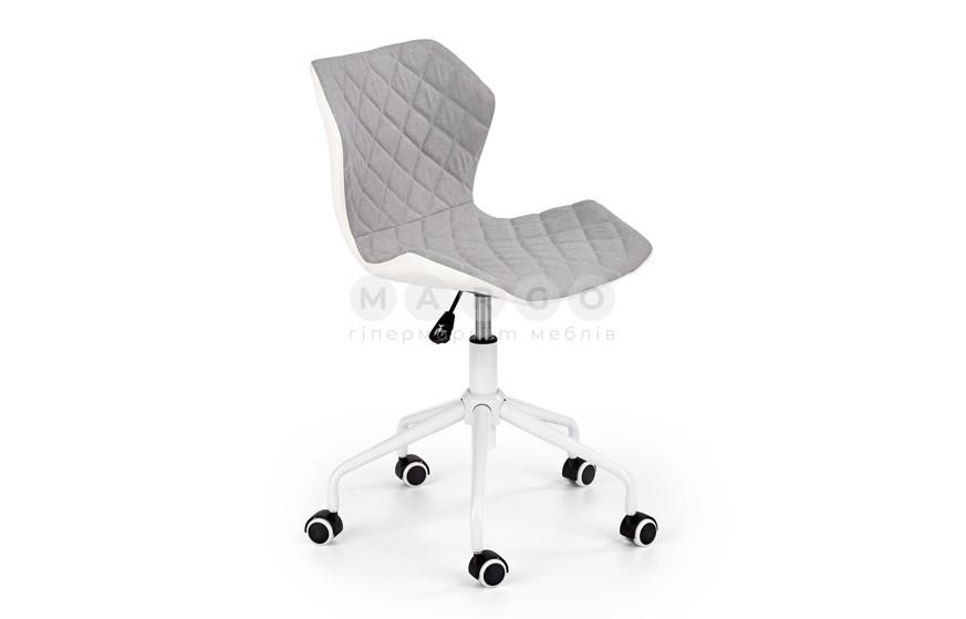 Кресло MATRIX 3 серый/белый 79-88: фото - Margo.ua