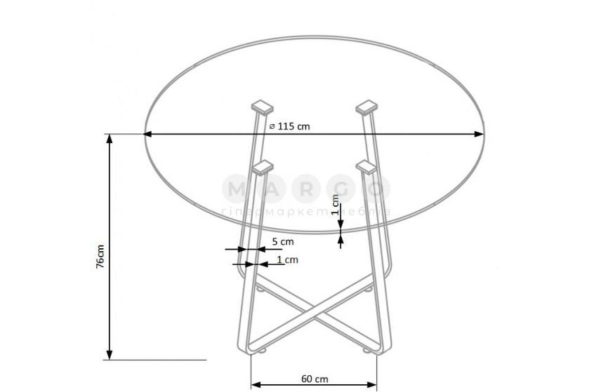 LOOPER стіл: фото - Margo.ua
