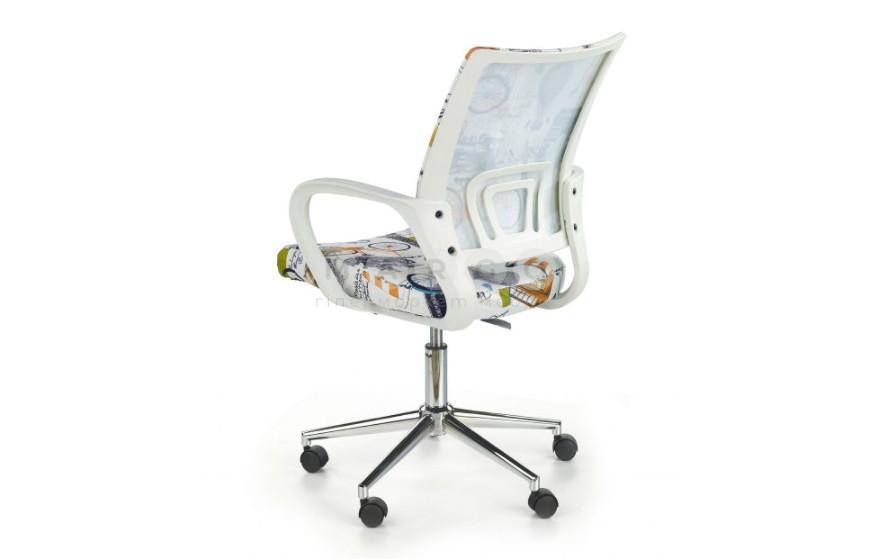 Кресло IBIS белый/принт 88-100: фото - Margo.ua